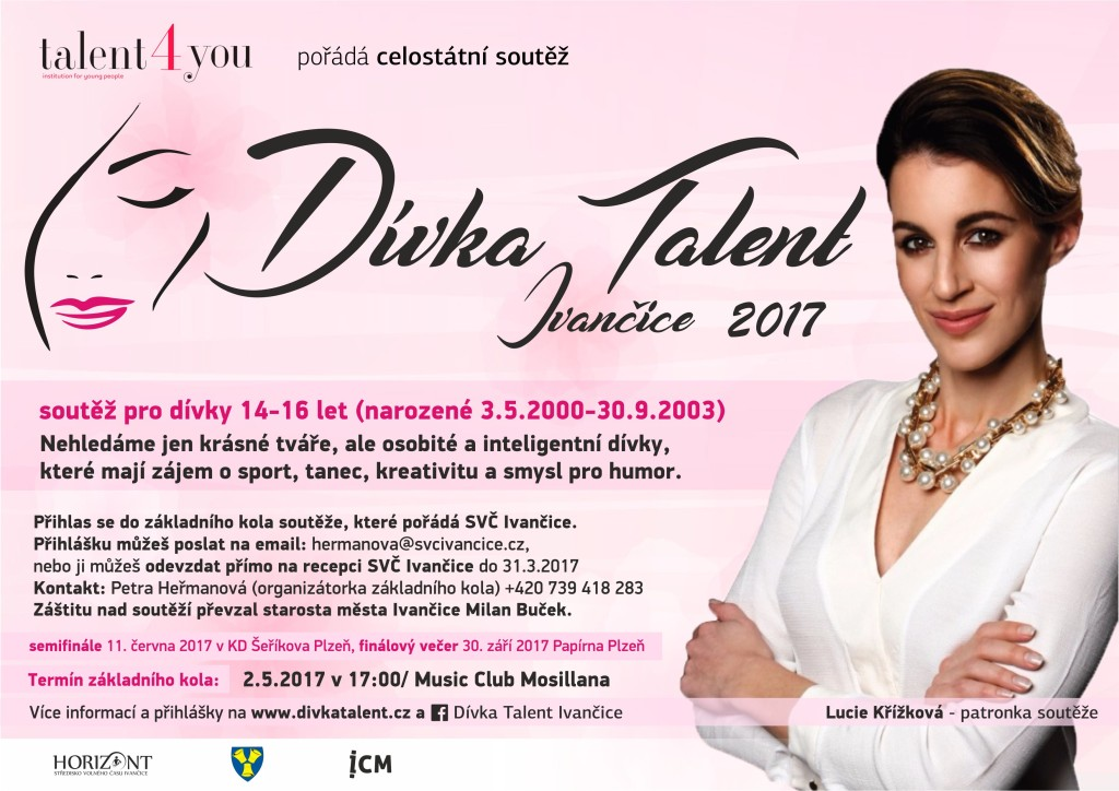 divka talent plakat