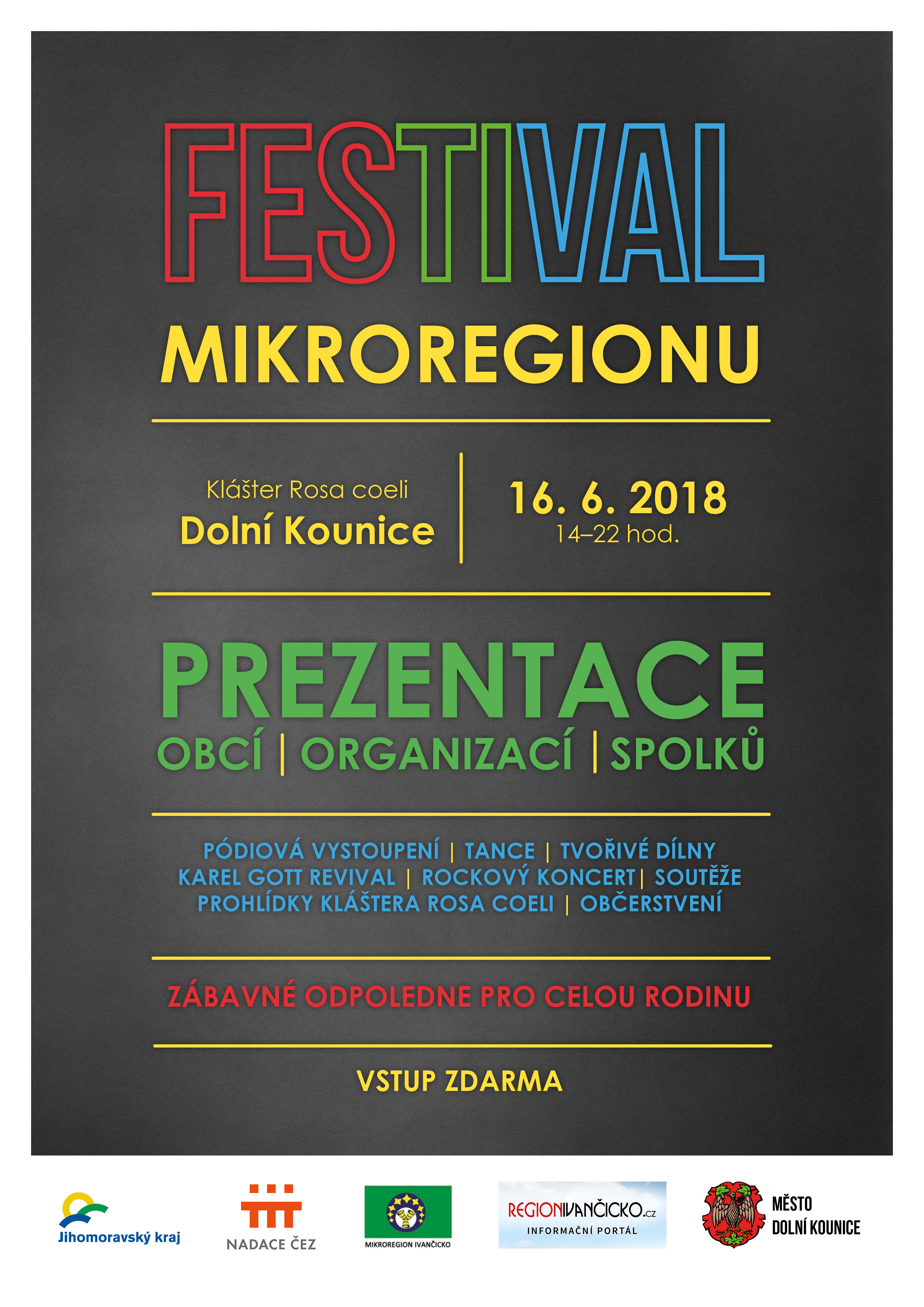 Plakát - Festival Mikroregionu
