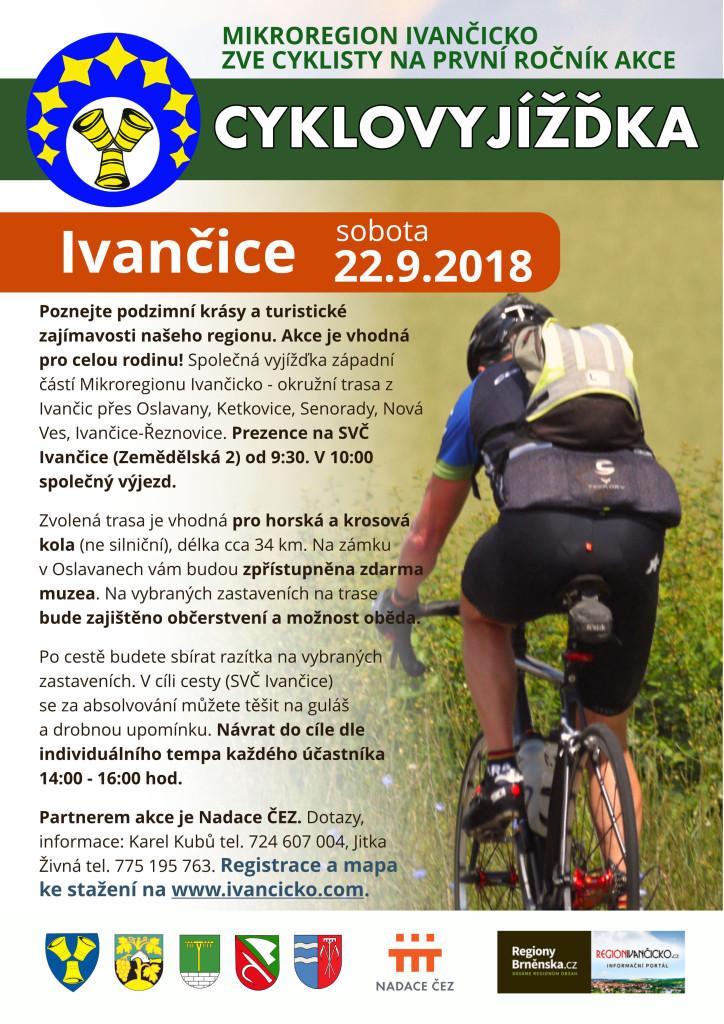 Plakát cyklovyjížďka