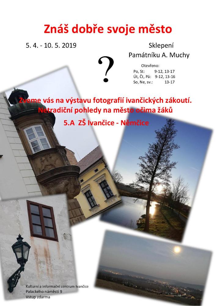 Výstava ZŠ Ivančice-Němčice