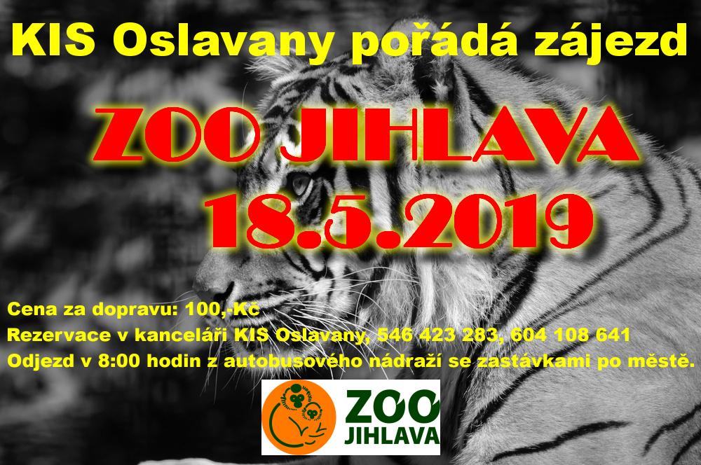 Zájezd ZOO Jihlava