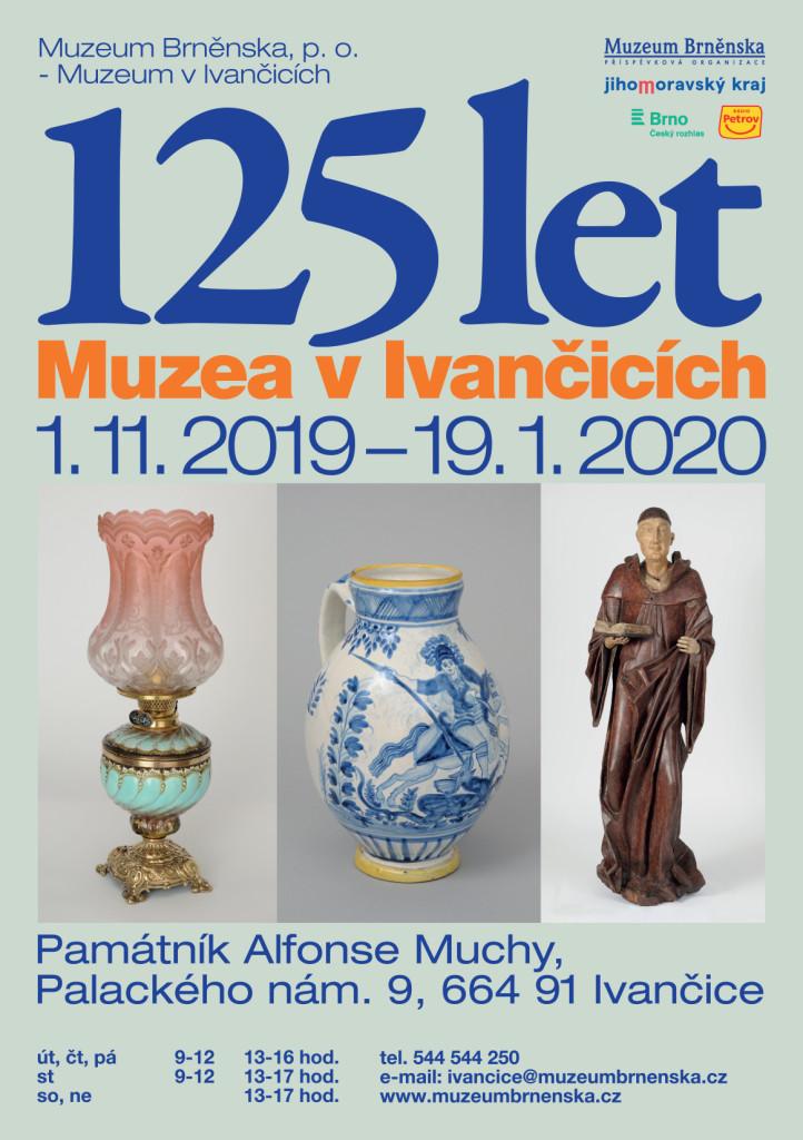 125 let Muzea v Ivančicích - pozvánka