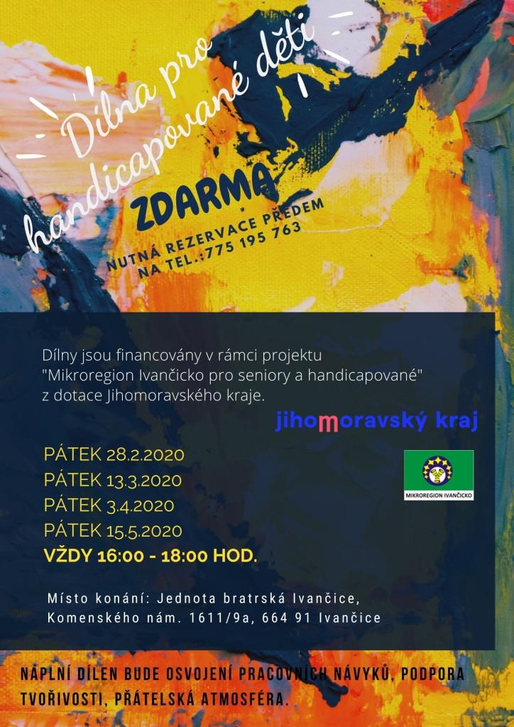 Dílny - plakát