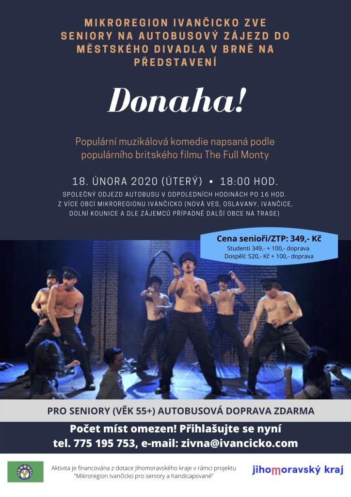 Divadlo DONAHA! - plakát