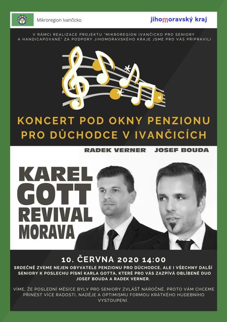 Koncert pod okny Penzionu